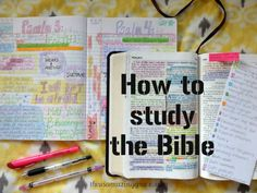 Do you want a meaningful daily Bible study that can be designed to fit your own life? Follow these 7 simple steps and you will be well on your way!