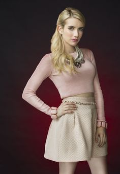 Emma Roberts as Chanel Oberlin in Scream Queens. Don't miss the 2-hour season premiere- Tuesday, September 22 on FOX!