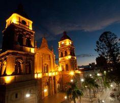 Metropolitan Cathedral Basilica of San Lorenzo. Located in the main Plaza 24 de Septiembre.