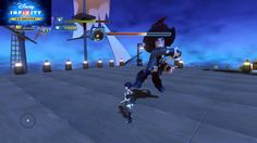 Disney Infinity 3.0 Quorra vs Barbossa Boss Fight Extreme Level