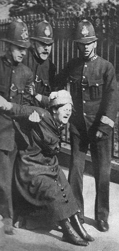 Suffragette,  Britain 1900s. Women of Britain & the democratic world, never waste your right to vote. These women fought, died and starved for a right we now take for granted. It doesn't matter who you vote for, vote because you can. It's a right still denied to millions of women around the world.