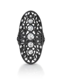 House Of Harlow 1960 Oval Finger Ring