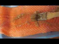 Receta de salmón marinado, fácil, rápido y exquisito, hecho en casa paso a paso - YouTube