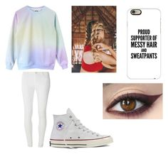 """""""More lazy day outfits"""" by loverrrrr on Polyvore featuring Dorothy Perkins, Converse and Casetify"""