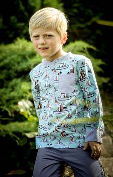 Sammy - das Hemd in den Größen 92 - 152 - Schnittmuster und Nähanleitungen bei Makerist.de