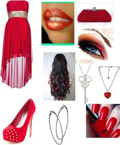 """tht dinner"" by my-styles-emilia ❤ liked on Polyvore"