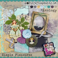 Mixology ~ Simple Pleasures Mini Kit 1