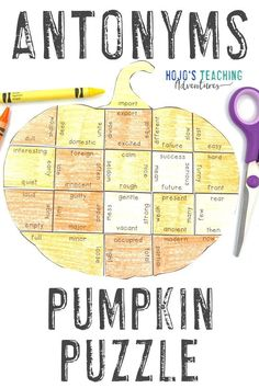Take at look at these ANTONYMS pumpkin literacy activities. They are great for the fall or autumn months of September, October, or November. They also work well for review during Halloween or Thanksgiving. They're a great alternative to Halloween activities. Grab your set today for your elementary classroom or homeschool kids! Basic English language arts review in centers or stations is easy! (2nd, 3rd, 4th grade approved!) #Elementary #FallLiteracy #PumpkinActivities Thanksgiving Classroom Activities, Halloween Activities For Kids, Thanksgiving Activities, Holiday Classrooms, Thanksgiving Holiday, Holiday Activities, Grammar Activities, Class Activities, Language Arts