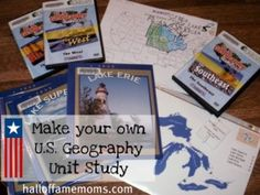 Homeschooling | Making a United States Geography Study Unit on a Budget