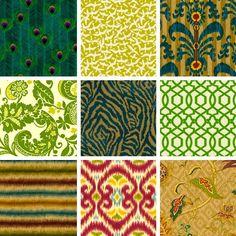 Former international model Iman has now released her very own range of exotic fabrics.