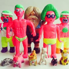 Yukinori Dehara collectible toys-韓国で販売用ソフビその2 ATC set list #arttoyculture