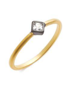 stackable bezel ring