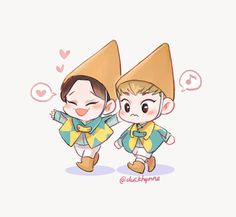 Image de exo, Chen, and xiumin Kpop Exo, Exo Xiumin, Chanbaek, Kaisoo, K Pop, Exo Fanart, Exo Cartoon, Exo Stickers, Exo Anime
