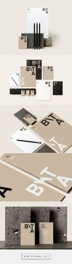 BTA - Architecture studio Branding by Griselda Marti | Fivestar Branding Agency – Design and Branding Agency & Curated Inspiration Gallery