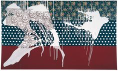 Sigmar Polke, Ashes to Ashes, 1992. Collection Museum of Contemporary Art, Chicago