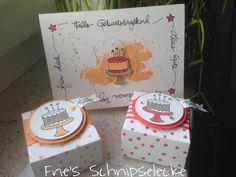 Schöne Ideen zum Set Geburtstagspuzzle im Netz gesehen und gleich mal in Pfirsich pur und Melonensorbet ausprobiert.