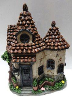 Resultado de imagem para ceramic fairy houses