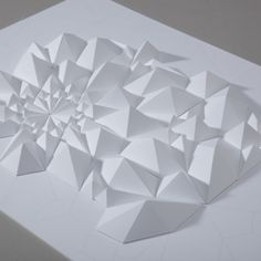 Matthew Shlian: The Tessellation Series paper geometry geometric