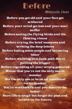 Poem! #Before