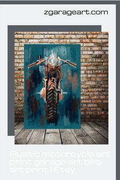 Horse painting, Rustic Horse painting, Horse in a Barn Rustic decor, Girls room art, gift for horseback riding, horses art print, large art Motorcycle Art, Bike Art, Garage Art, Garage Ideas, Lighthouse Art, Man Cave Art, Automotive Decor, Modern Art Prints, Unique Art