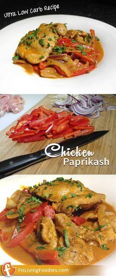 Chicken Paprikash wi