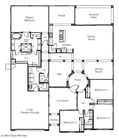 Coventry at heathrow deerfield floor plan 1 future house for Coventry homes floor plans