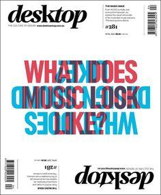 Desktop #magazine #cover