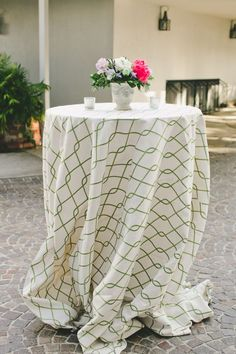 Wedding table linens: http://www.stylemepretty.com/2016/09/08/wedding-details-guests-notice/ Photography: Onelove - http://www.onelove-photo.com/