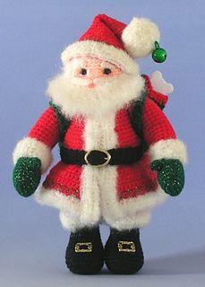Santa Claus by Sue Pendleton miniature version of 'here comes santa'