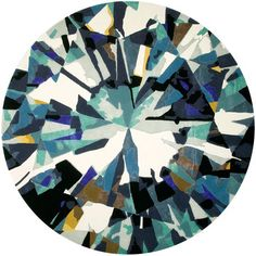 Diamond Is Forever Large Area Rug