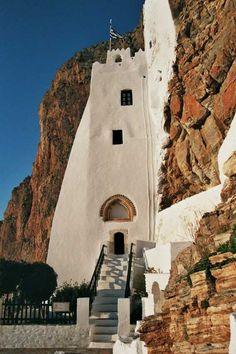The Virgin Hozoviotissa Monastery, Amorgos, Greece
