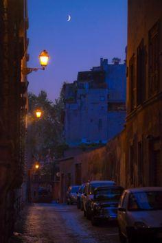 Rome at night, Spring 2013: Palazzo