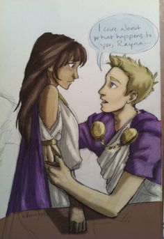 I don't know but I kind of ship Reyna&Jason but I ship Piper&Jason more. It's just that Reyna&Jason had something going on, like eventually they would had become a couple if Hera hadn't switched Jason and Percy around. Just imagine how it must had been for her to have Jason disappear, run Camp Jupiter by herself as praetor, and then have Jason come back with someone else. Above all, she masked her pain and stayed strong because she knew there are more important issues than her feelings
