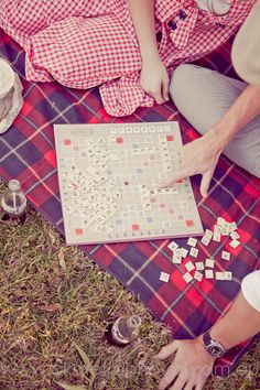 Playing Board Games- I did this growing up with my family and still like to do it :-)