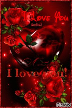 Love Heart Images, I Love You Pictures, Beautiful Love Pictures, Heart Of Pictures, Love Heart Gif, Love You Gif, Beautiful Rose Flowers, Love Flowers, Love Rose
