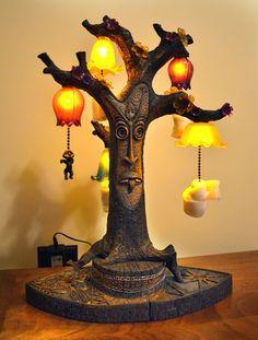 DISNEYLAND ENCHANTED TIKI ROOM TANGAROA LAMP PROTOYPE Kevin Kidney & Jody Daily   eBay