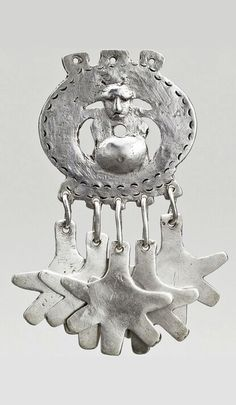 Argentina / Patagonia | Charm pendant from the Mapuche people; silver | © Musée du quai Branly