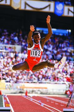 Carl Lewis  Winner of nine gold medals in 5 Olympics