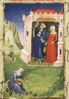 « L'Epistre Othea la deesse, que elle envoya à Hector de Troye, quant il estoit en l'aage de quinze ans » [par CHRISTINE DE PISAN].