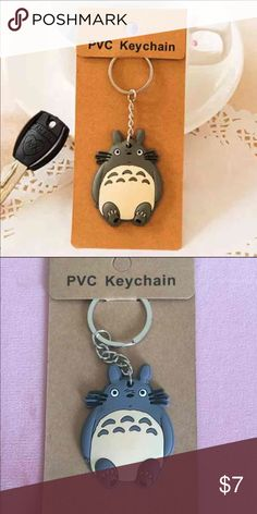 Totoro keychain One totoro keychain included only. Please see the second picture for the actual product you will receive. Thanks!                                                                 Bundle price: 2 for $12 Accessories Key & Card Holders
