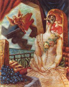 Alberto Savinio - La fidèle épouse, (1930-31)