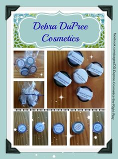 Thank you to Debra Dupree Cosmetics for the trial samples! Amazing Product with amazing results!!