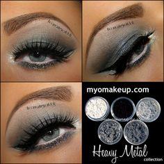 Heavy Metal Smokey eye makeup