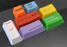 WASD Keyboards Individual Laser Etched or Engraved Cherry MX Keycap