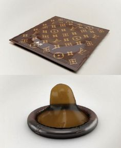 $68 each! Louis Vuitton Condom   One Of The Most Expensive Condoms