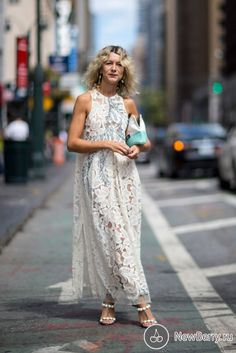 Street style на неделе моды в Нью-Йорке 2017