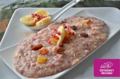 Hajdina kása (gluténmentes vegán recept) Paleo, Oatmeal, Vegan, Breakfast, Foods, Kassel, Bulgur, The Oatmeal, Morning Coffee