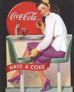 PROPAGANDAS ANTIGAS - Coca-Cola
