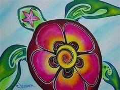 "Hawaiian Sea Turtle ""Color Splash"" Print of colorful tribal turtle watercolor Print Matted to Christie Marie Art Hawaiian Sea Turtle, Sea Turtle Art, Tribal Turtle, Hawaiian Art, Hawaiian Tattoo, Turtle Love, Sea Turtles, Mandala Turtle, Hawaiian Decor"