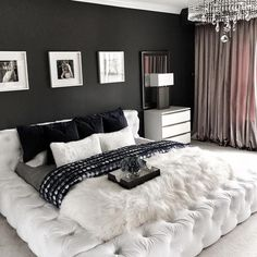 Modern and Chic Bedroom Design and Decoration Ideas Part home design ideas; home design ideas home designs home designs ideas; bedroom design tips; Room Design, Bedroom Makeover, Bedroom Design, Luxury Curtains, Luxurious Bedrooms, Stylish Bedroom, Bedroom Inspirations, Apartment Decor, Dream Rooms